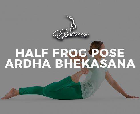 Half-Frog-Pose