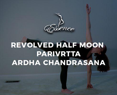 Revolved Half Moon Parivrtta Ardha Chandrasana